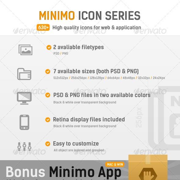 Minimo Icon Series