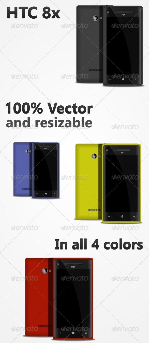 Phone Vector - Man-made Objects Objects