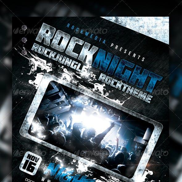 Rock Concert / Party / Festival Flyer / Poster