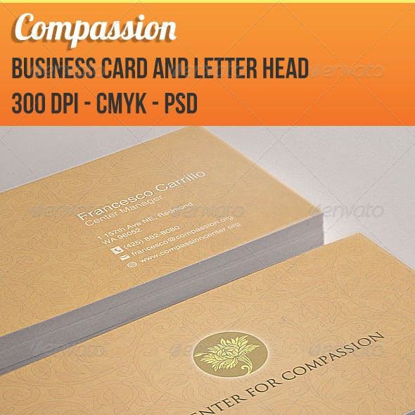Compassion- Business Card and Letterhead