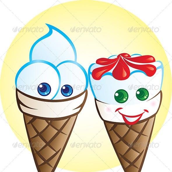Ice Cream Mascots