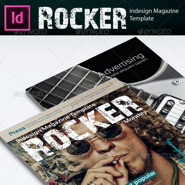 Rocker Magazine Template