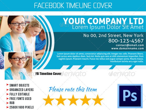 Corporate FB Timeline Cover 04 - Facebook Timeline Covers Social Media