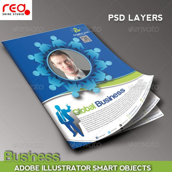 Business Promotion Flye/Poster & Magzine Template