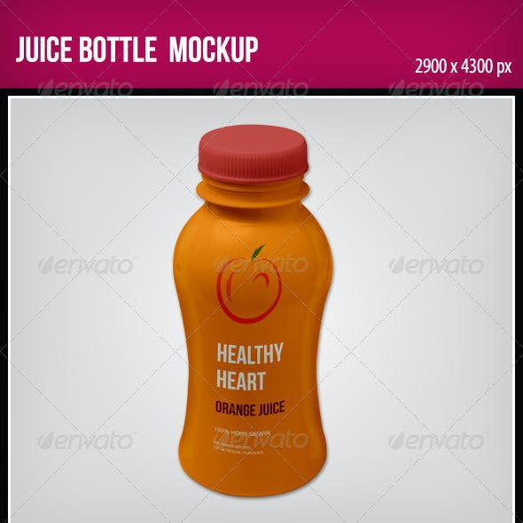 Juice Bottle Graphics, Designs & Templates from GraphicRiver