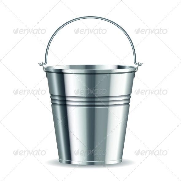 Metal Bucket By Tassel78 Graphicriver