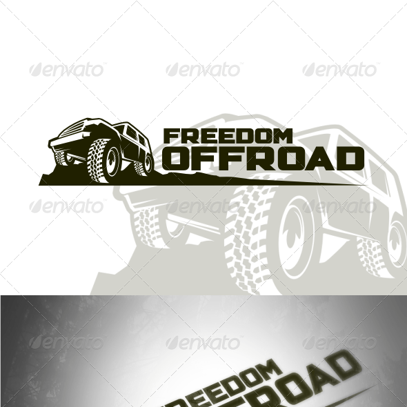 Freedom Offroad Logo Templates