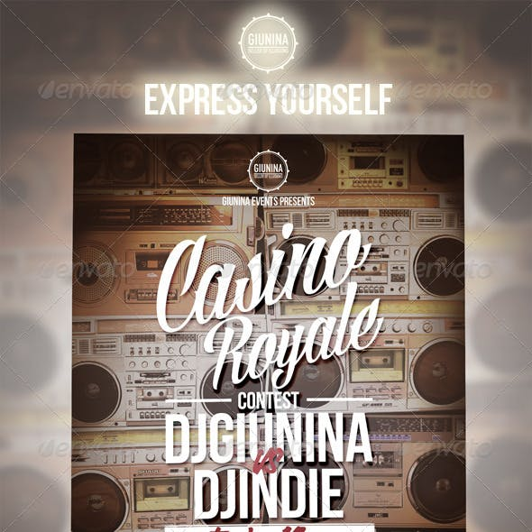Casino Royale Event Flyer