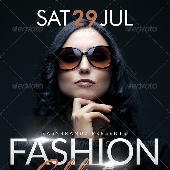 Fashion Celebration Flyer Template
