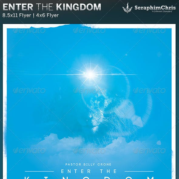 Enter the Kingdom: Church Flyer Template
