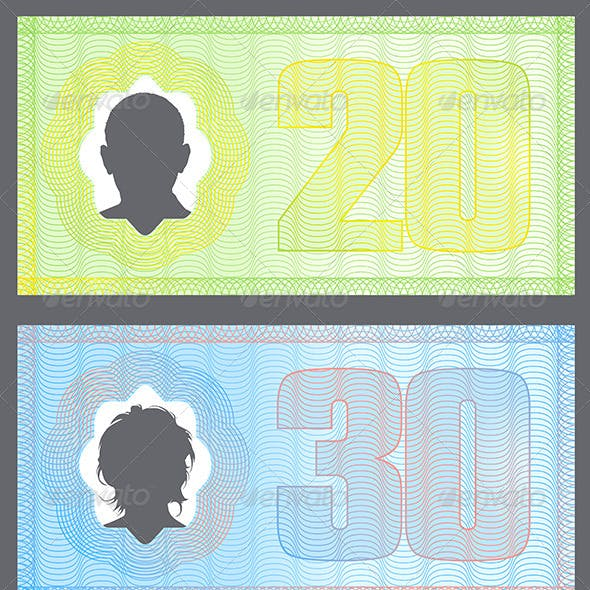 Funny Money with Gradient Protection Lines
