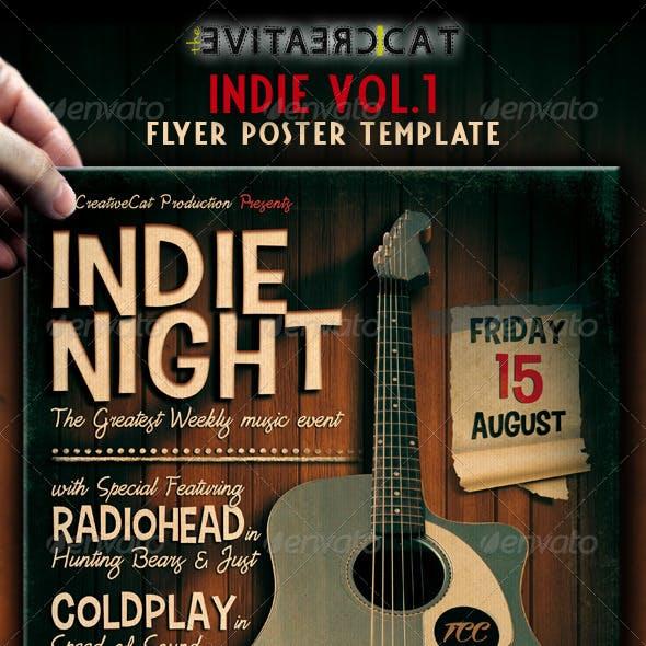 Indie Flyer / Poster VOL.1