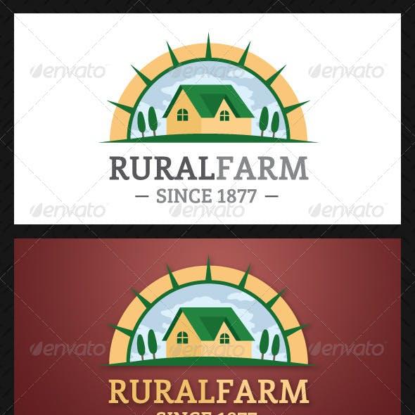 Rural Farm Logo Template