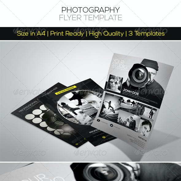 Premium Photography Flyer