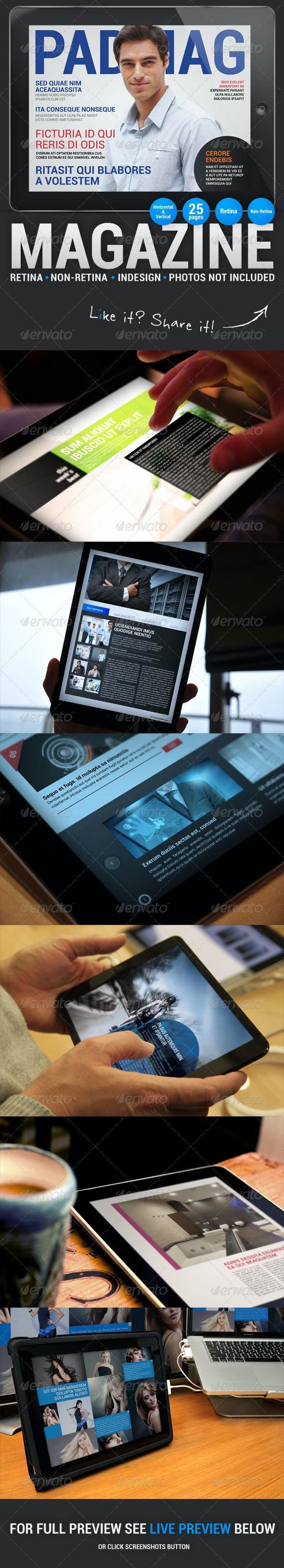 PadMag 25 Pages iPad Magazine - Digital Magazines ePublishing
