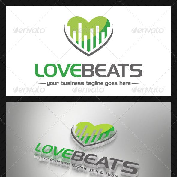 Music Love Beats Logo
