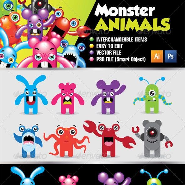 Monster Animals Kit