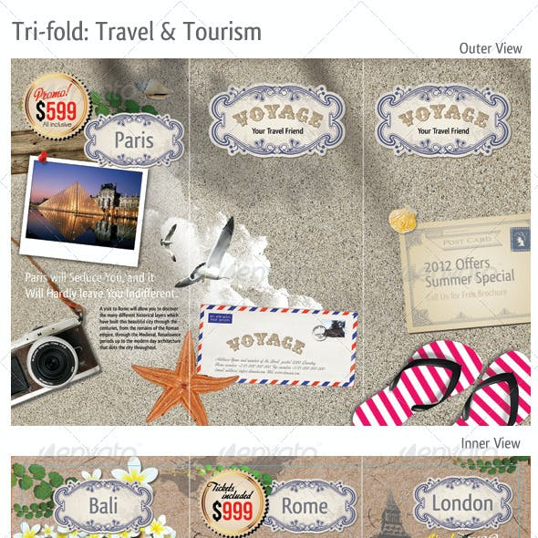 Tri-fold: Travel & Tourism