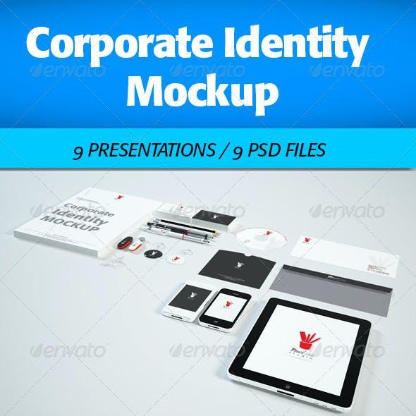 Corporate Identity Mock-Up