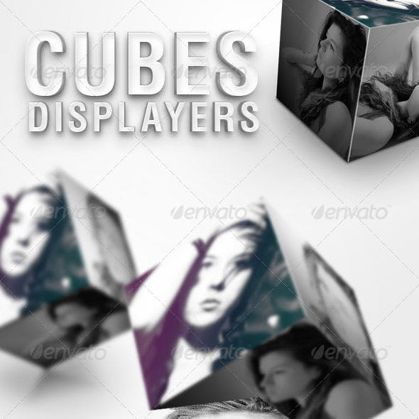 Cubes Displayers