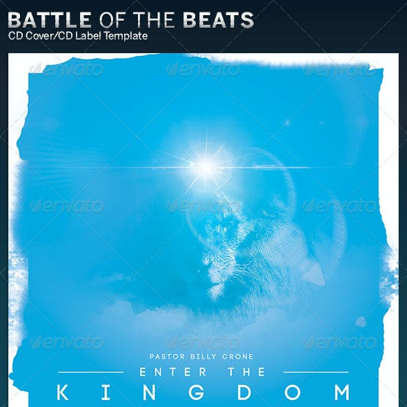 Enter the Kingdom CD Cover Artwork Template