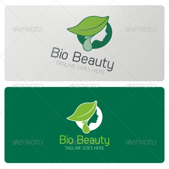 Bio Beauty Logo Template