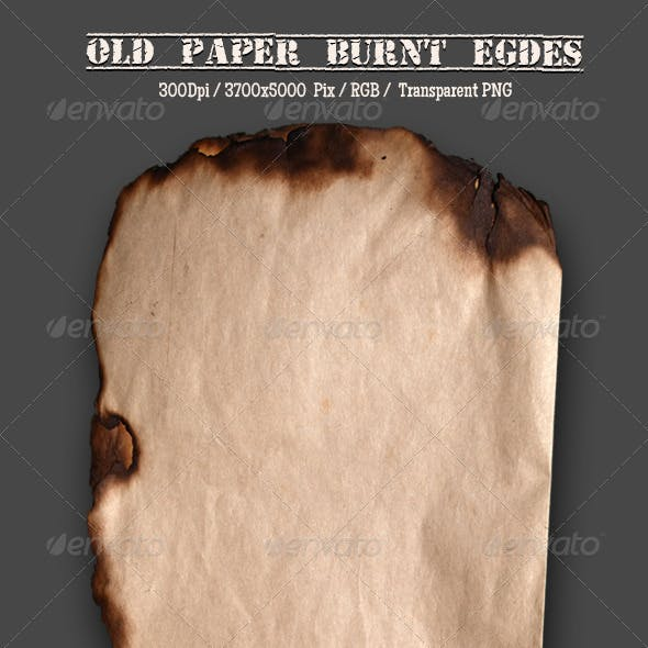 Burnt Old Paper 1