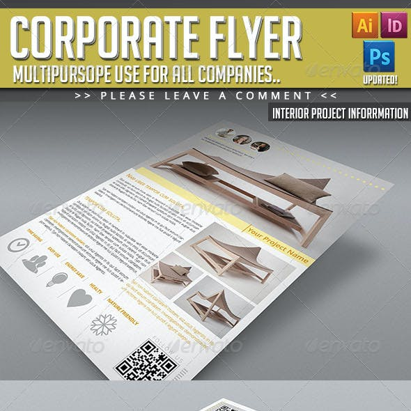 Corporate Flyer - Interior Project Information