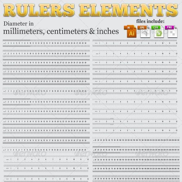 Rulers Elements