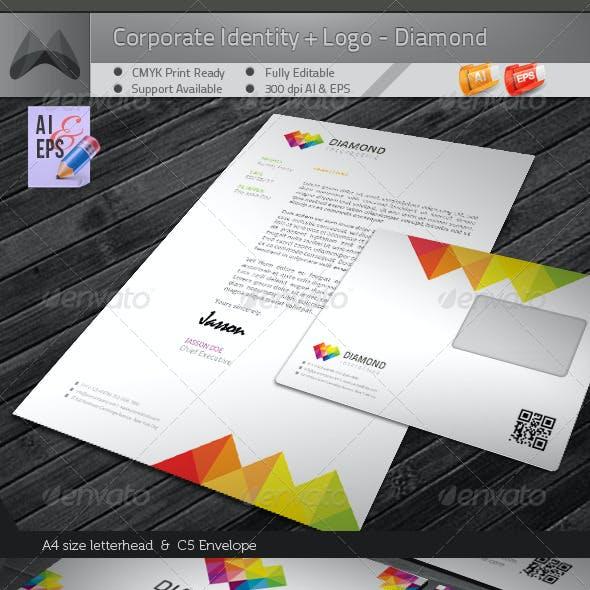 Corporate Identity Package - Diamond