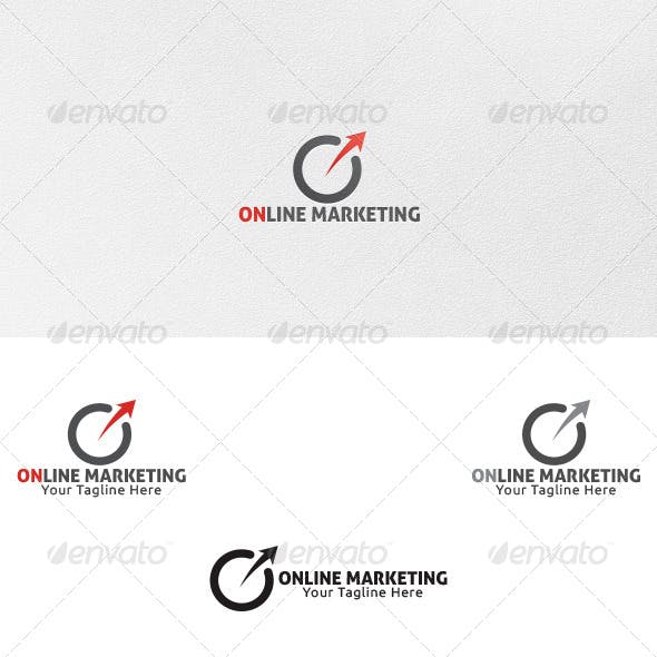Online Marketing - Logo Template