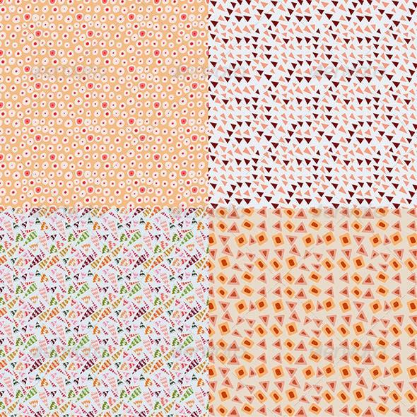Various Doodle Geometric Patterns