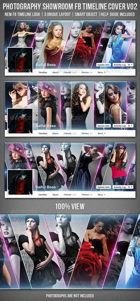 Photography Showroom Facebook Timeline Cover V02 - Facebook Timeline Covers Social Media