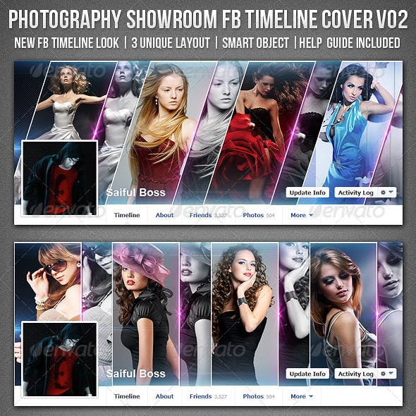 Photography Showroom Facebook Timeline Cover V02
