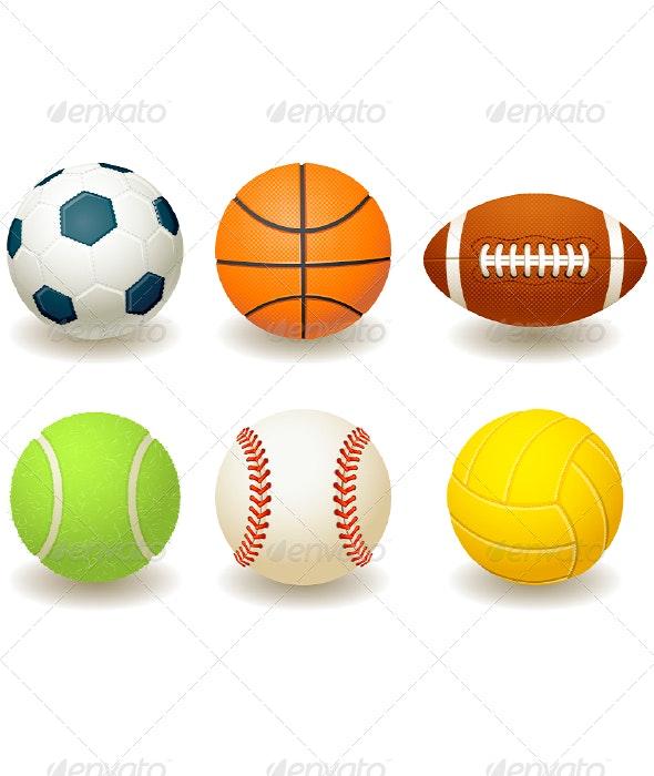 Balls - Sports/Activity Conceptual