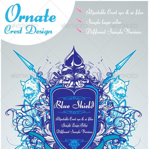 Ornate Crest Design