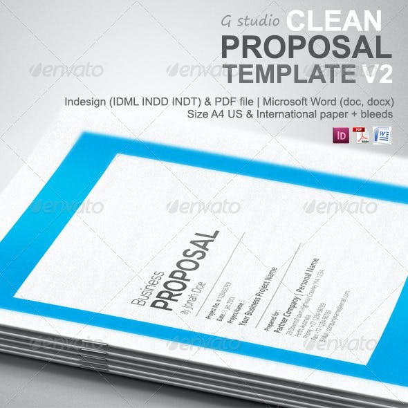 Gstudio Clean Proposal Template V2