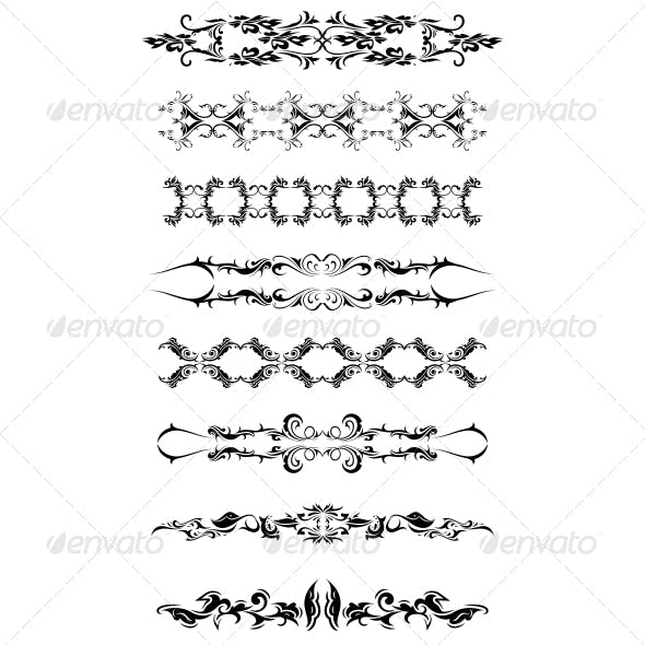 Artistic Bands Vector Pack