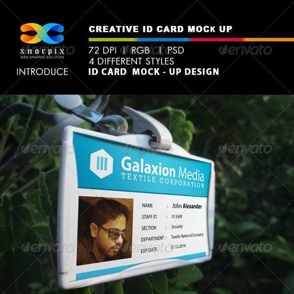 ID Card Mock-Ups
