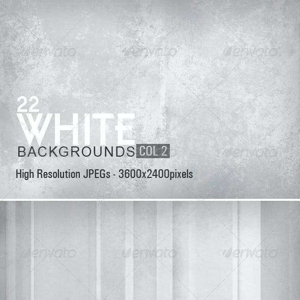 White Backgrounds Collection 2