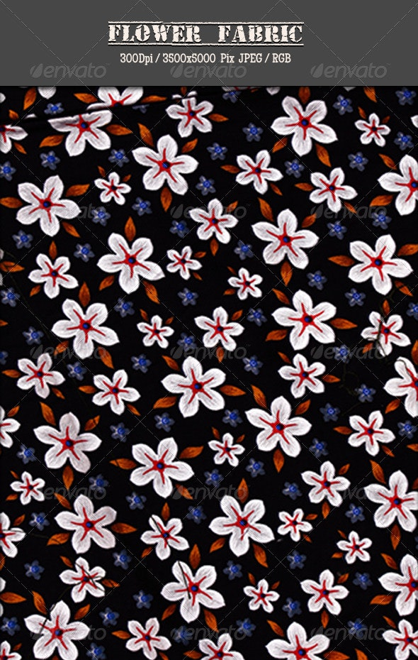 Flower Fabric 3 - Fabric Textures