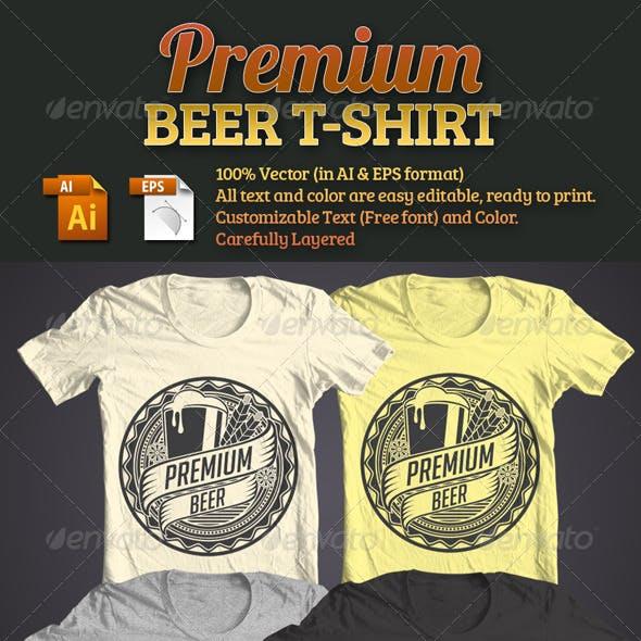 Premium Beer T-Shirt