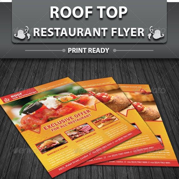 Restaurant Business Flyer | Volume 6