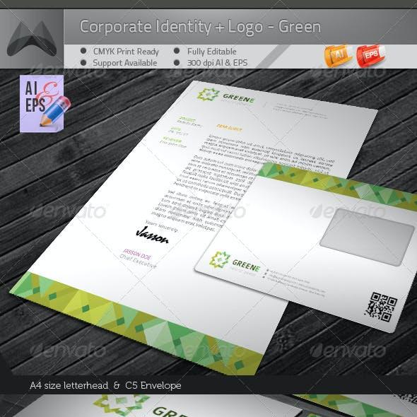 Corporate Identity Package - Flower