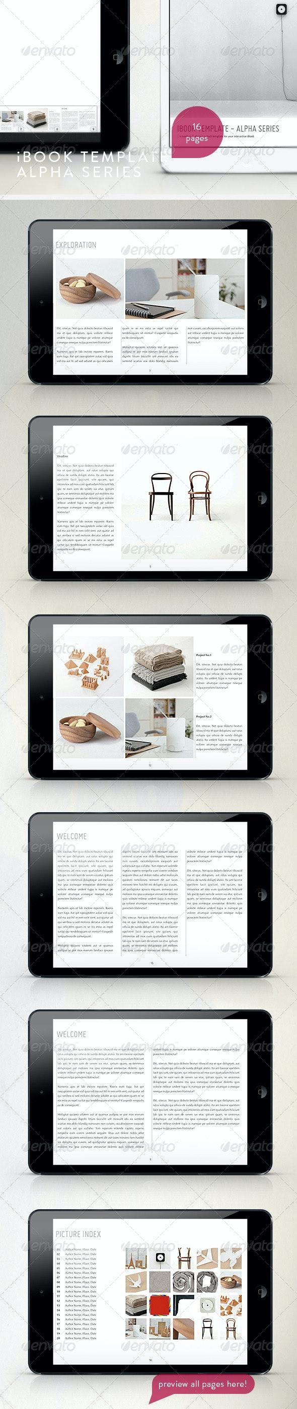 Modern Tablet Templete - Vol.2 - Digital Books ePublishing
