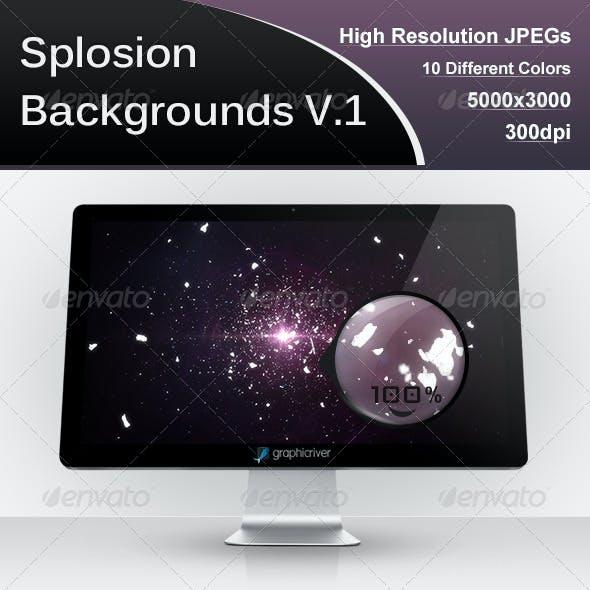 Splosion Backgrounds V.1