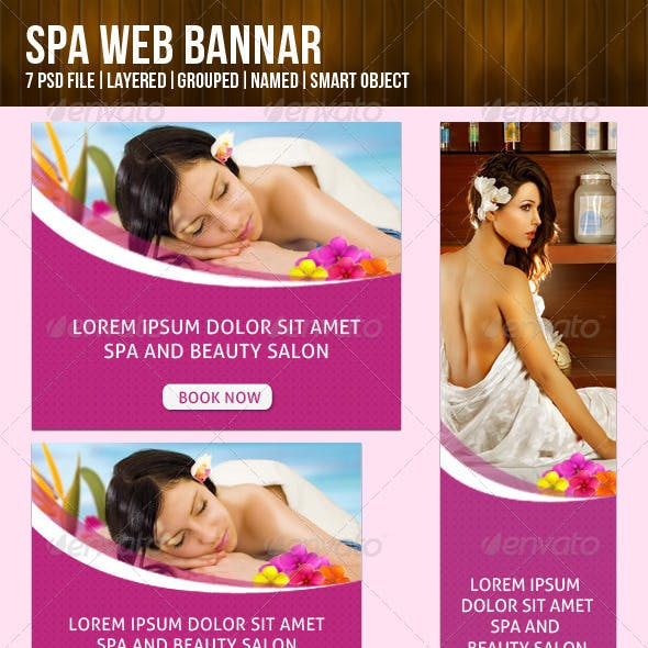 Beauty Salon Banner Graphics Designs Templates