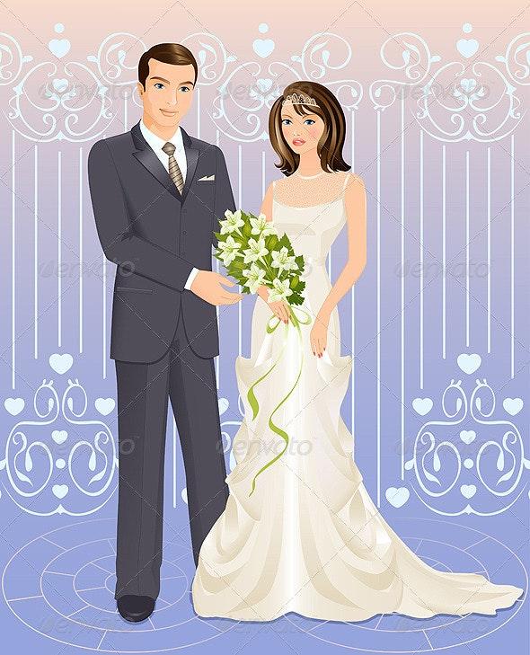 Wedding couple - Weddings Seasons/Holidays
