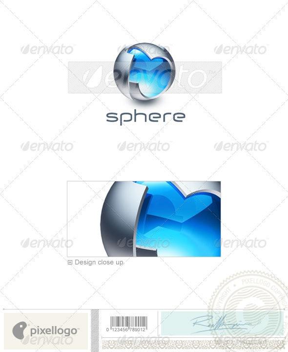 Technology Logo - 3D-242 - 3d Abstract