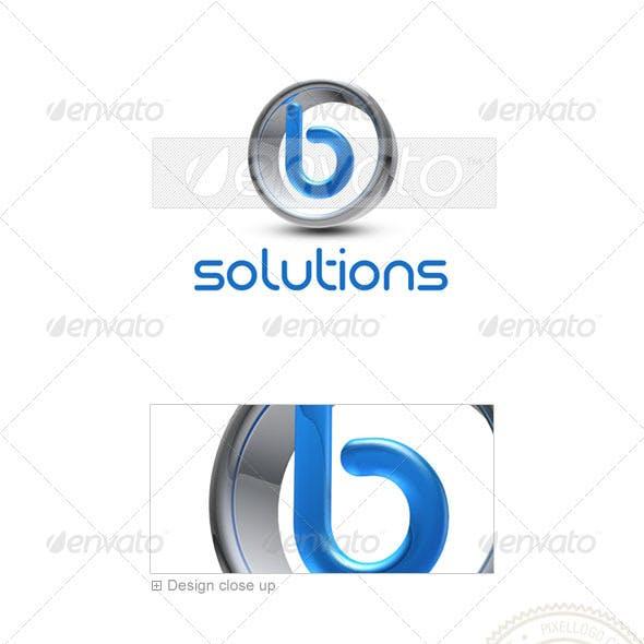 B Logo - 3D-288-B
